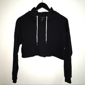 Forever 21 Cropped Hoodie